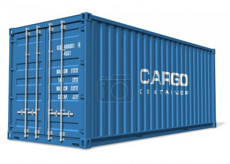 Photo for Cargo container - Royalty Free Image