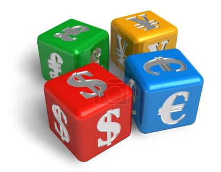 Photo pour Concept de devises - image libre de droit