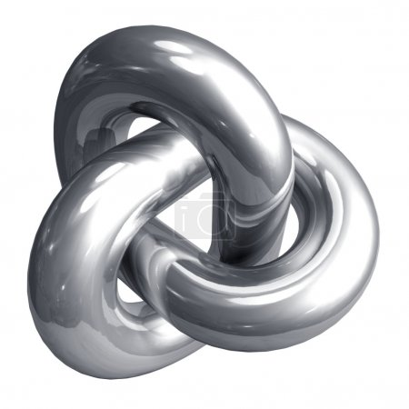 Photo for Abstract metal shape - Royalty Free Image