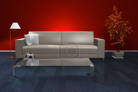 Photo for Stylish living room interior - Royalty Free Image