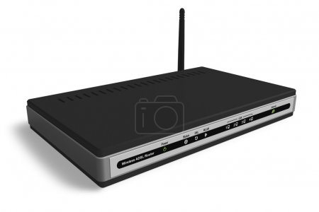 Photo for Wireless modem/router - Royalty Free Image