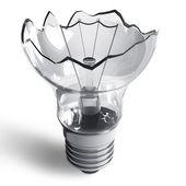 lampe cassée