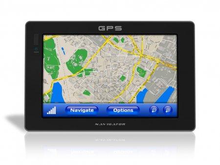 Photo pour Navigateur GPS - image libre de droit