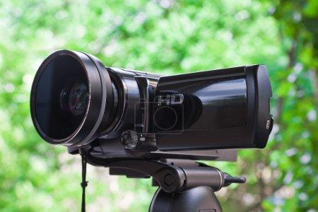 Photo pour Caméscope haute définition - image libre de droit