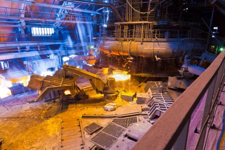 The image with Blast furnace