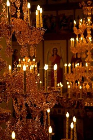 Photo pour Intérieur de l'église - image libre de droit
