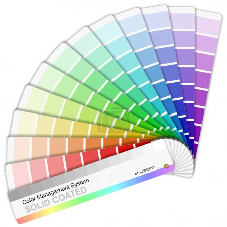 Pantone color palette