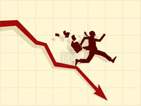 Vector concept of financial crisis