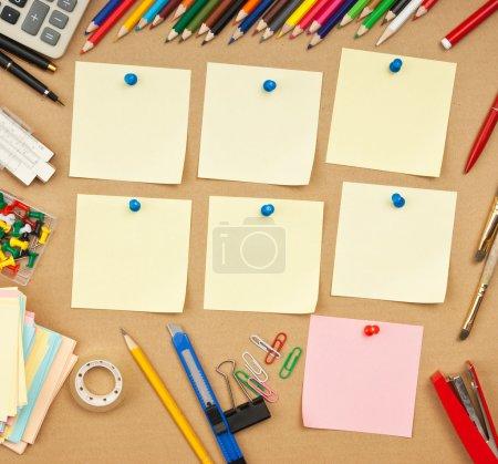 Photo pour Horaire des cours par semaine à l'école - image libre de droit