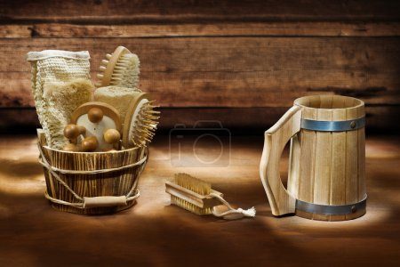 Photo for Bath accessories - Royalty Free Image