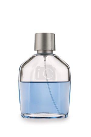 Glases perfume bottle isolated