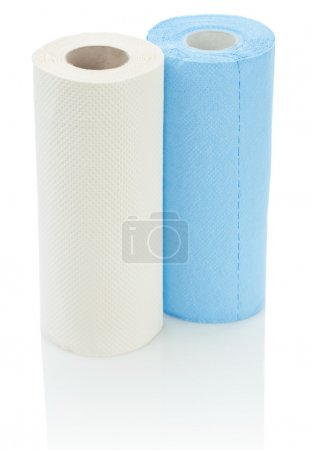 Two roll of toilet towel