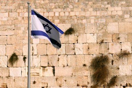 Waiving Flag of Israel