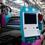 New and powerful metalworking machine in modern wo...