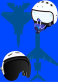 Helmets pilots