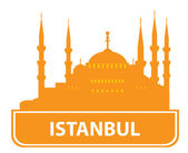 Istanbul skyline Vector illustration for you design
