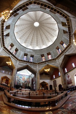 Classic Israel - Dome and Basilica of the Annunciation church in