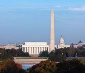 Sonnenuntergang über Washington dc