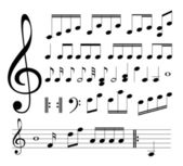 Musical signs Notes