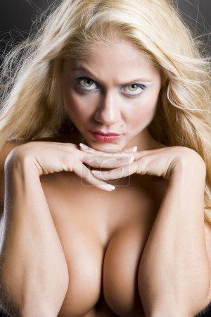 Erotic nude woman
