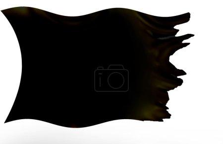 Foto de Negro ondeando bandera - Imagen libre de derechos