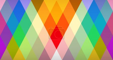 Photo for Rhombic pattern - Royalty Free Image