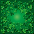 Background with clovers for St.Patrick day with on...