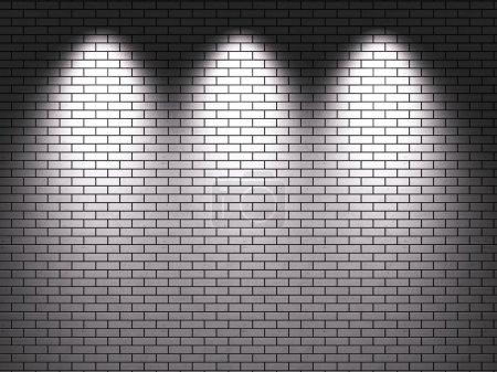 Photo pour Mur de briques (rendu 3d) - image libre de droit