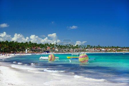 Caribbean coastline, traveling