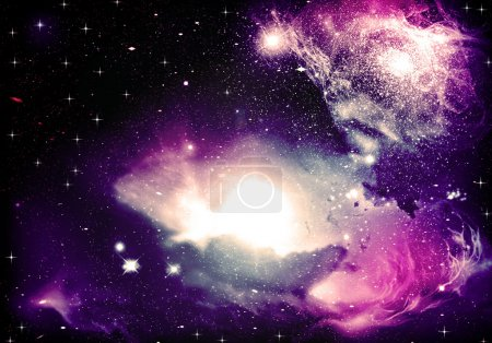 Photo for Fantasy astromeda  Space Nebula star - Royalty Free Image