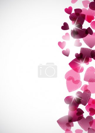Illustration for Valentine background - Royalty Free Image