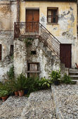 Street view in scalea italy