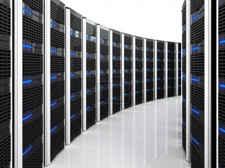 Server 3d background