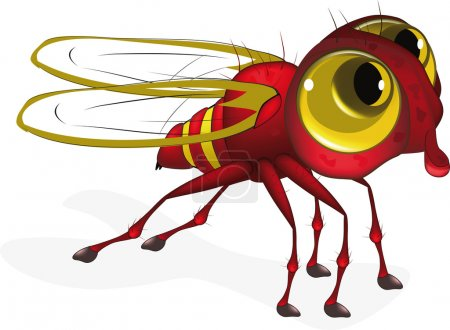 Red insect