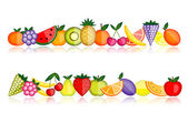 Energy fruits Vector collection for your design