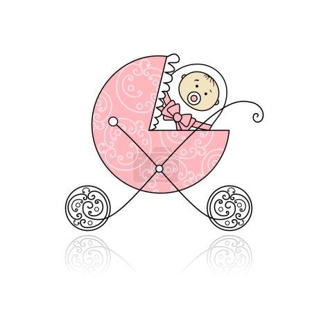 Newborn in baby