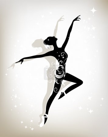 Ballet dancer for your design