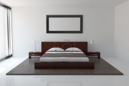 Foto de Interior de dormitorio moderno - Imagen libre de derechos