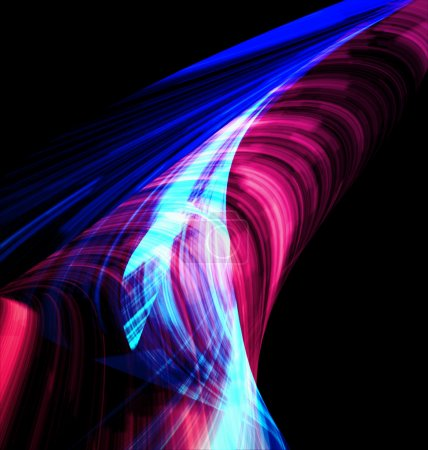 Photo for Abstract mystical multi colored smoke - Royalty Free Image