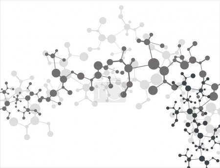Photo for Molecule background - Royalty Free Image