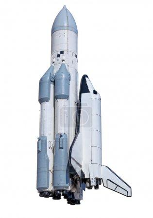 Photo for Spaceship Buran in Samara, Russia - Royalty Free Image