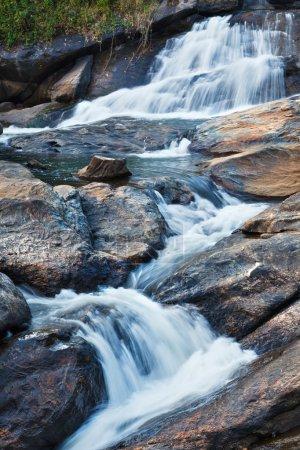 Photo for Athukadu Waterfall. Long exposure. Munnar, Kerala, India - Royalty Free Image