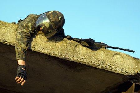Dead soldier