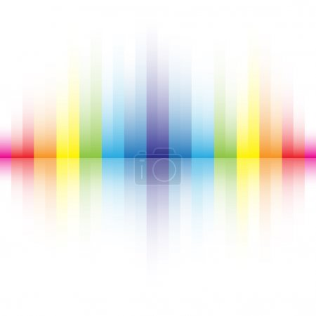 Illustration for The beautiful gradient rainbow colors background for design - Royalty Free Image
