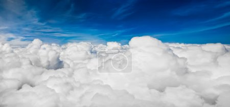 Photo for View sky from an airplane - Royalty Free Image