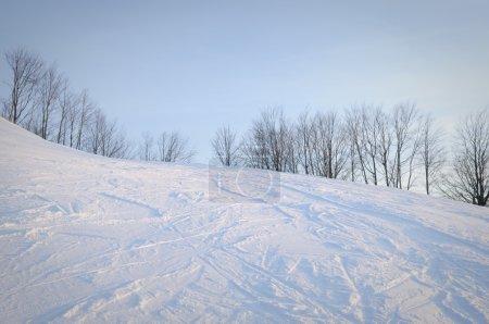 Slope. Winter