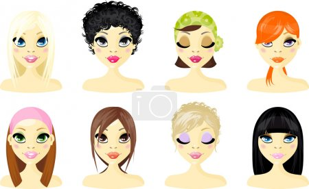 Avatar Icon Women