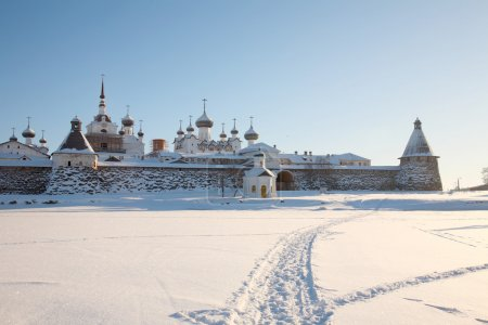 Kind on the Solovetsky monastery.