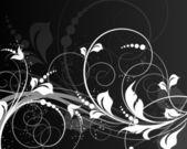 Květinové pozadí abstraktní