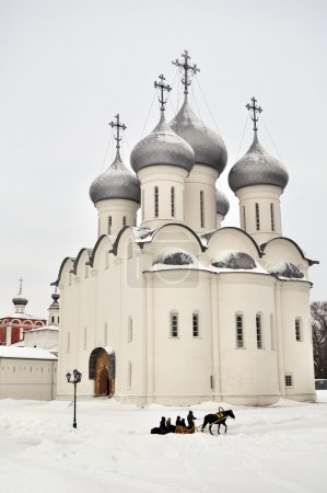 Sophia cathedral in Vologda, Russia